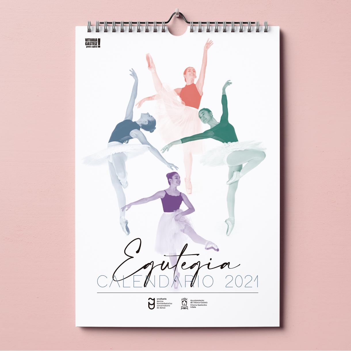 Conservatorio de Danza José Uruñuela, portada de calendario