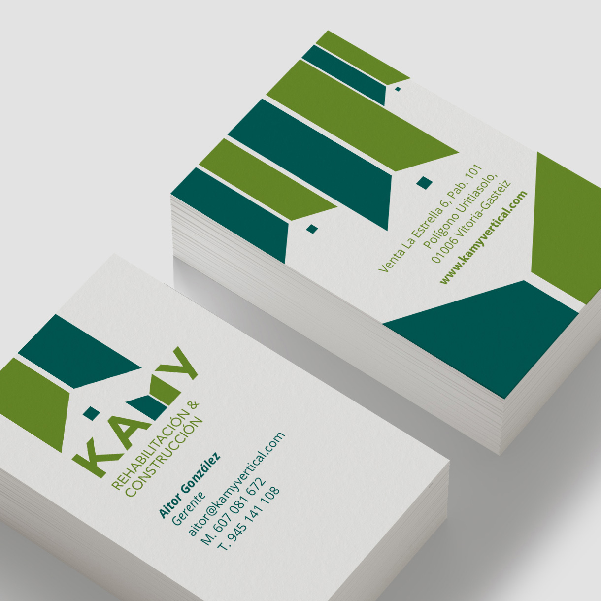 kamy, tarjetas de visita
