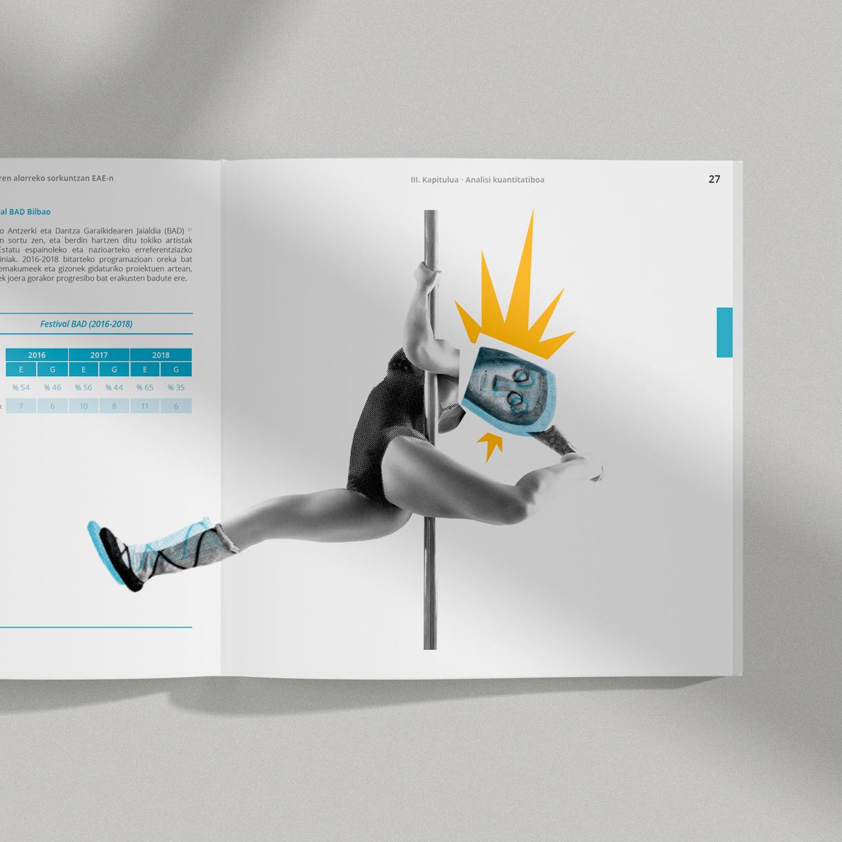 Gobierno Vasco, maquetación e ilustración de informes