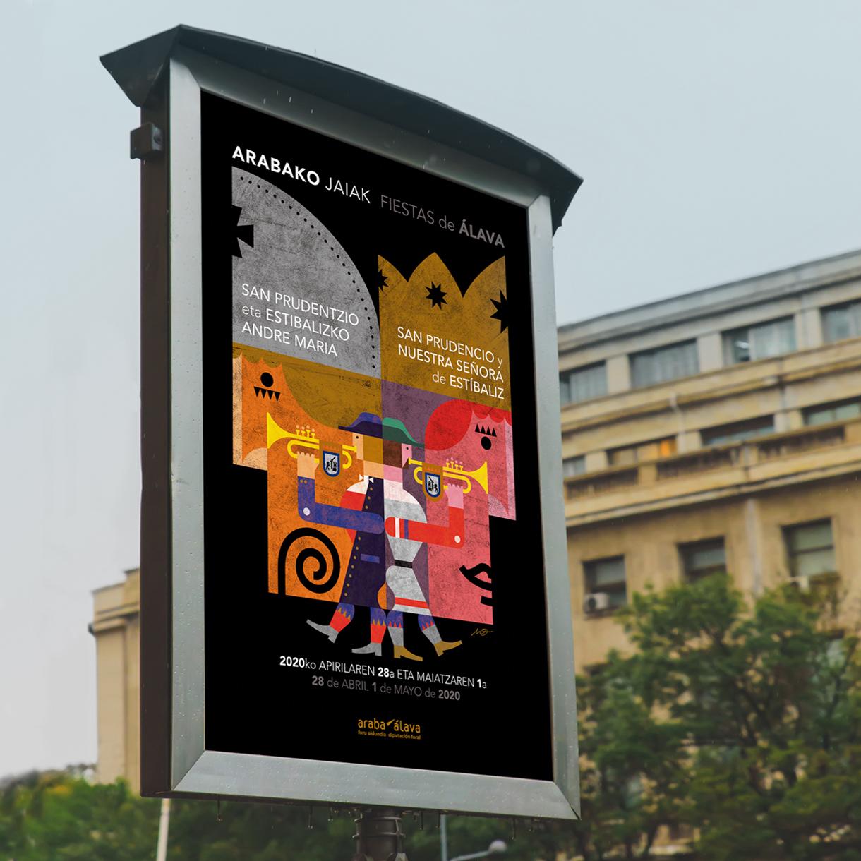 Cartel Fiestas San Prudencio 2020