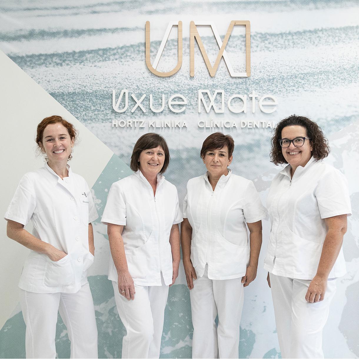 Clínica Dental Uxue Mate, sesión de fotos