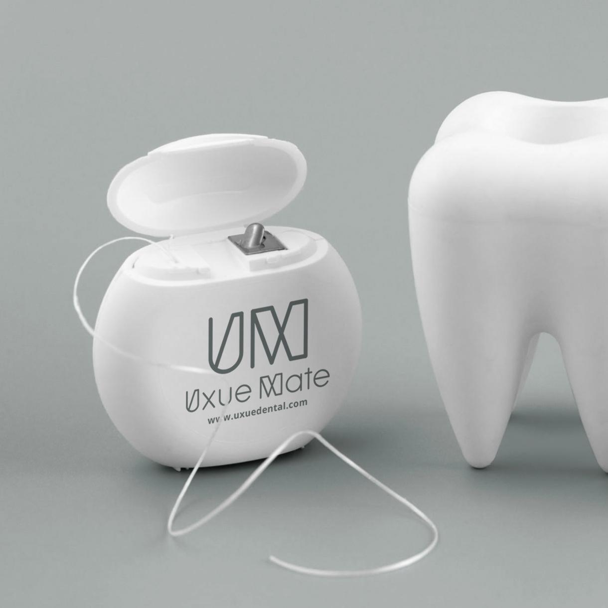 Clínica Dental Uxue Mate, aplicaciones de marca