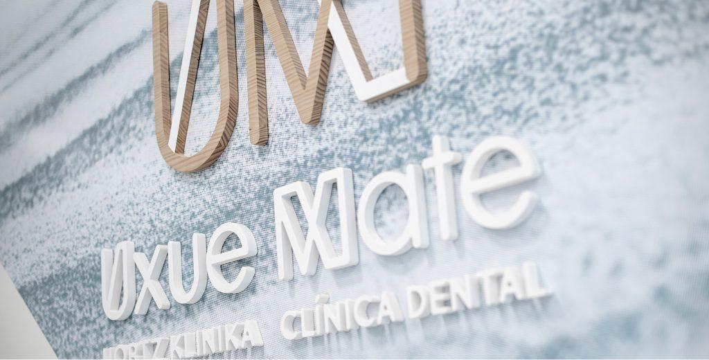 Clínica Dental Uxue Mate, creación de marca